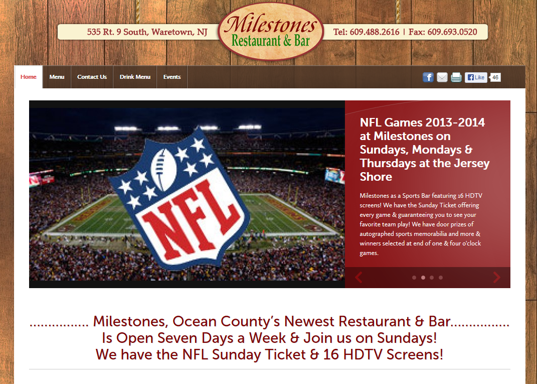 Milestones Restaurant & Bar