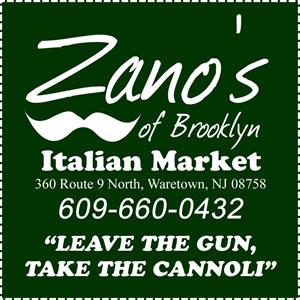 Zano Bros of Brooklyn Now in Waretown, Barnegat Area