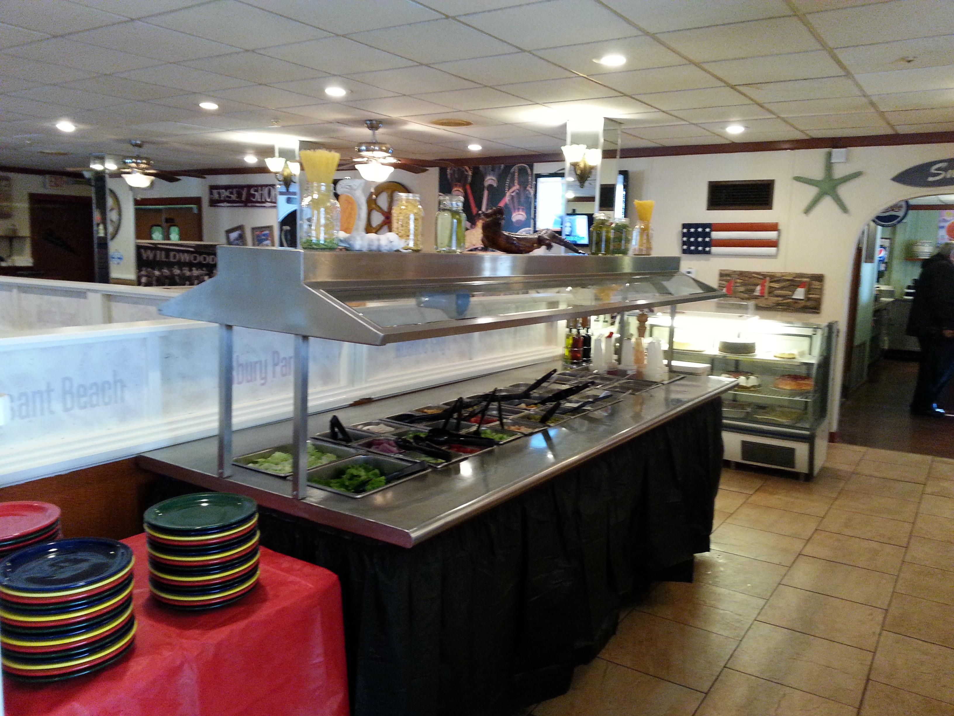 Salad Bar at Kokomo's Family Style Restaurant of New Jersey